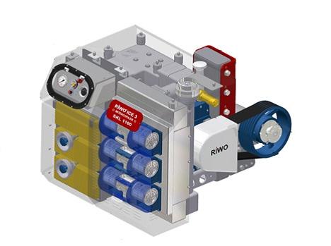 CVS SKL ICE - компрессорный агрегат с охладителем нагнетаемого воздуха в за