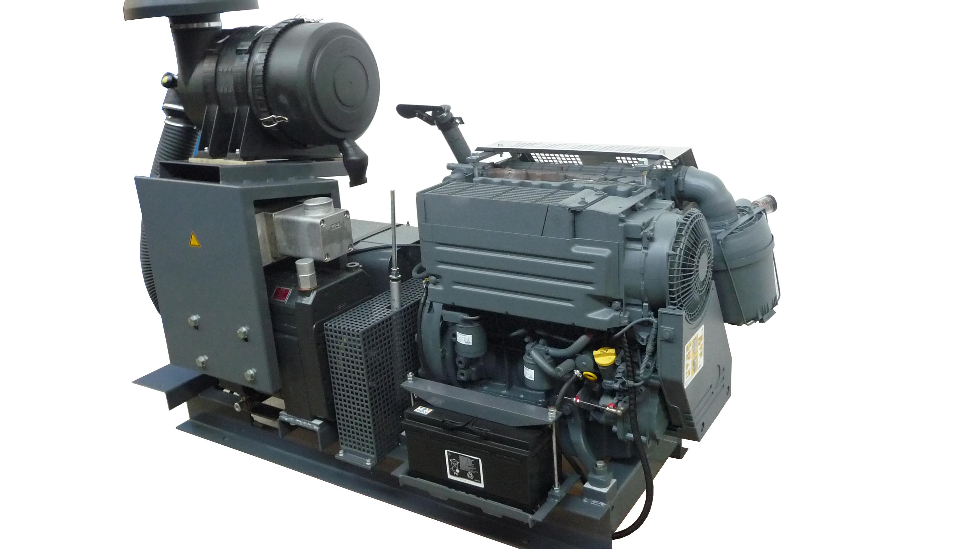 SiloKing 700 компрессорные агрегаты с 3-х цилиндровым ДВС Deutz D2011F4Li