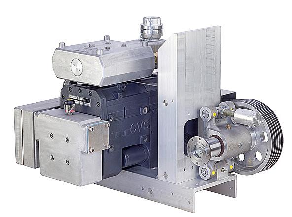 Монтаж компрессоров в шасси с приводом от КОМа