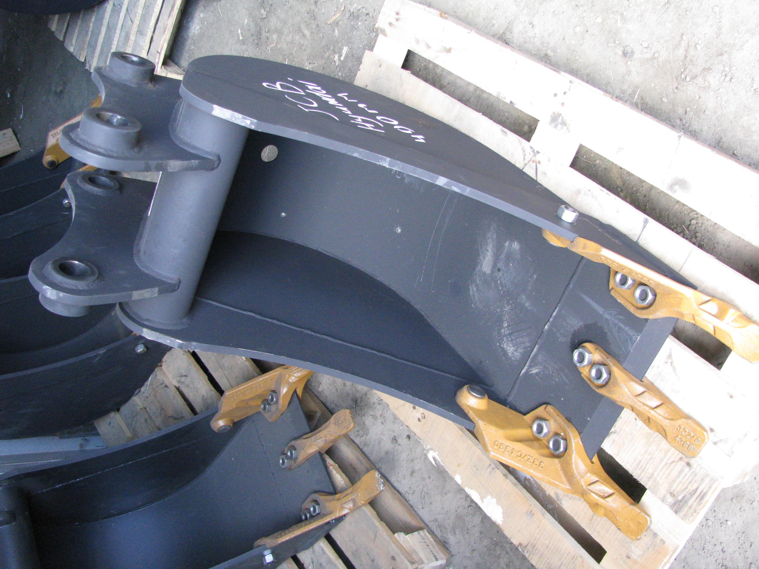 ковш hyundai 940 930 на экскаватор погрузчик узкий траншейный 40 см