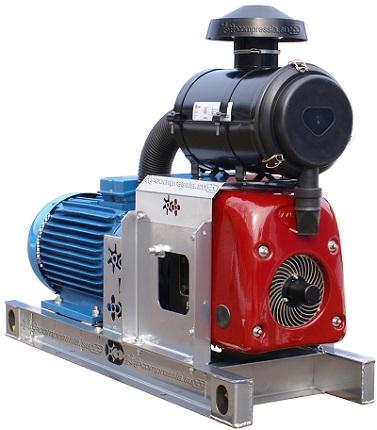 Gardner Denver XK12 с электроприводом 30 кВт - компрессорный агрегат