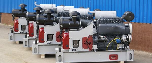 Компрессорный агрегат XK12 с ДВС Д 144