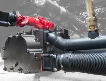 Gardner Denver TR 20 Tornado - компрессор для выгрузки муки, цемента и комб
