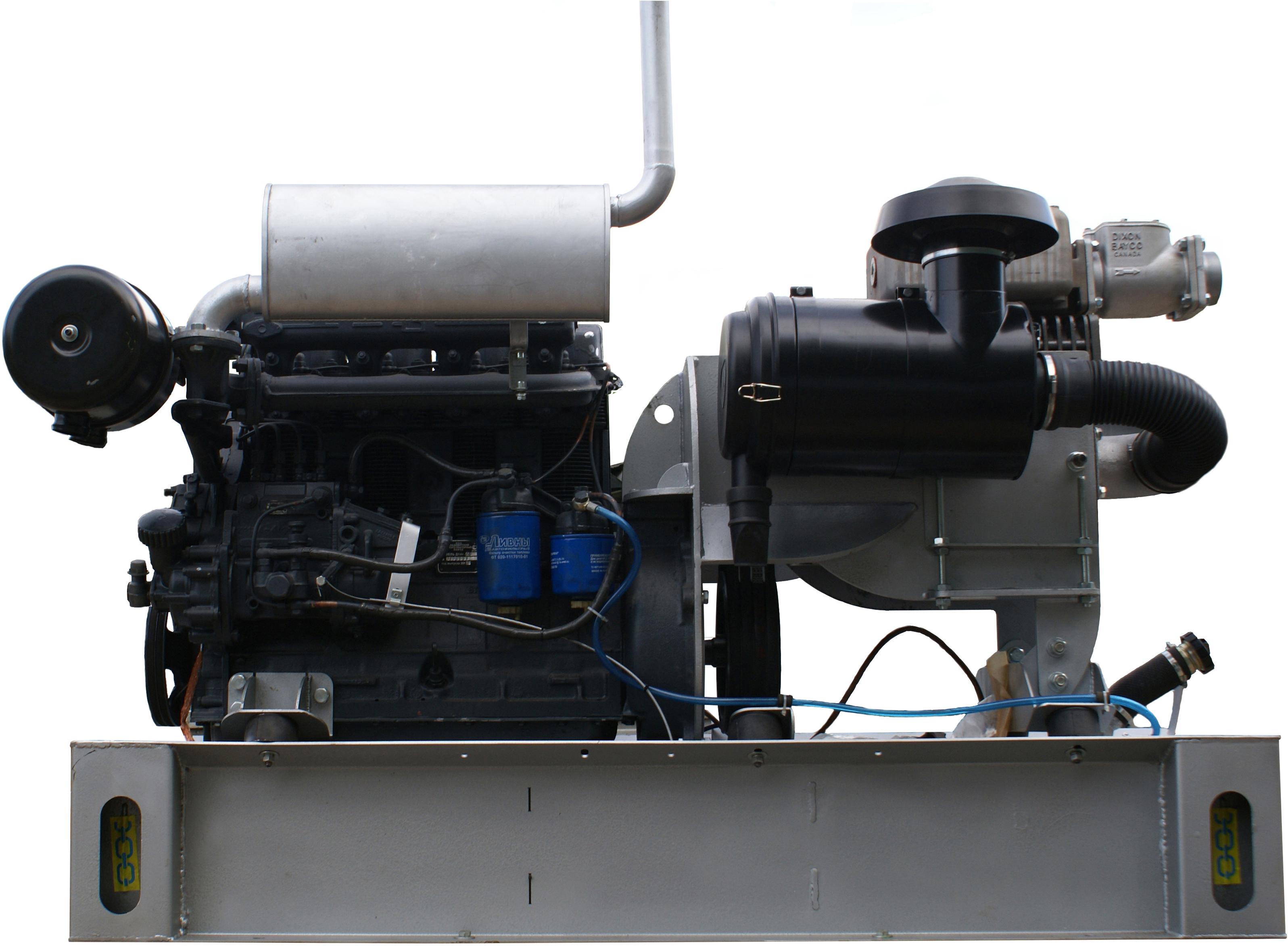 Gardner Denver Bulkline 650 с ДВС Д 144