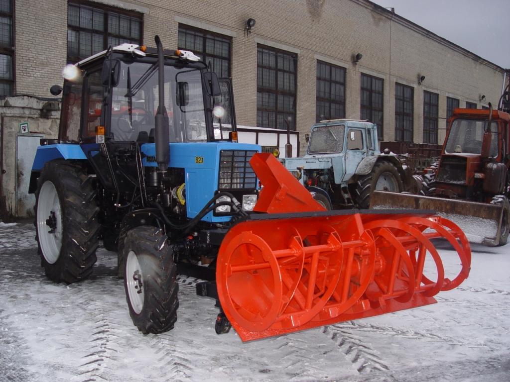 Ротор для снега на мтз 80 своими руками 16