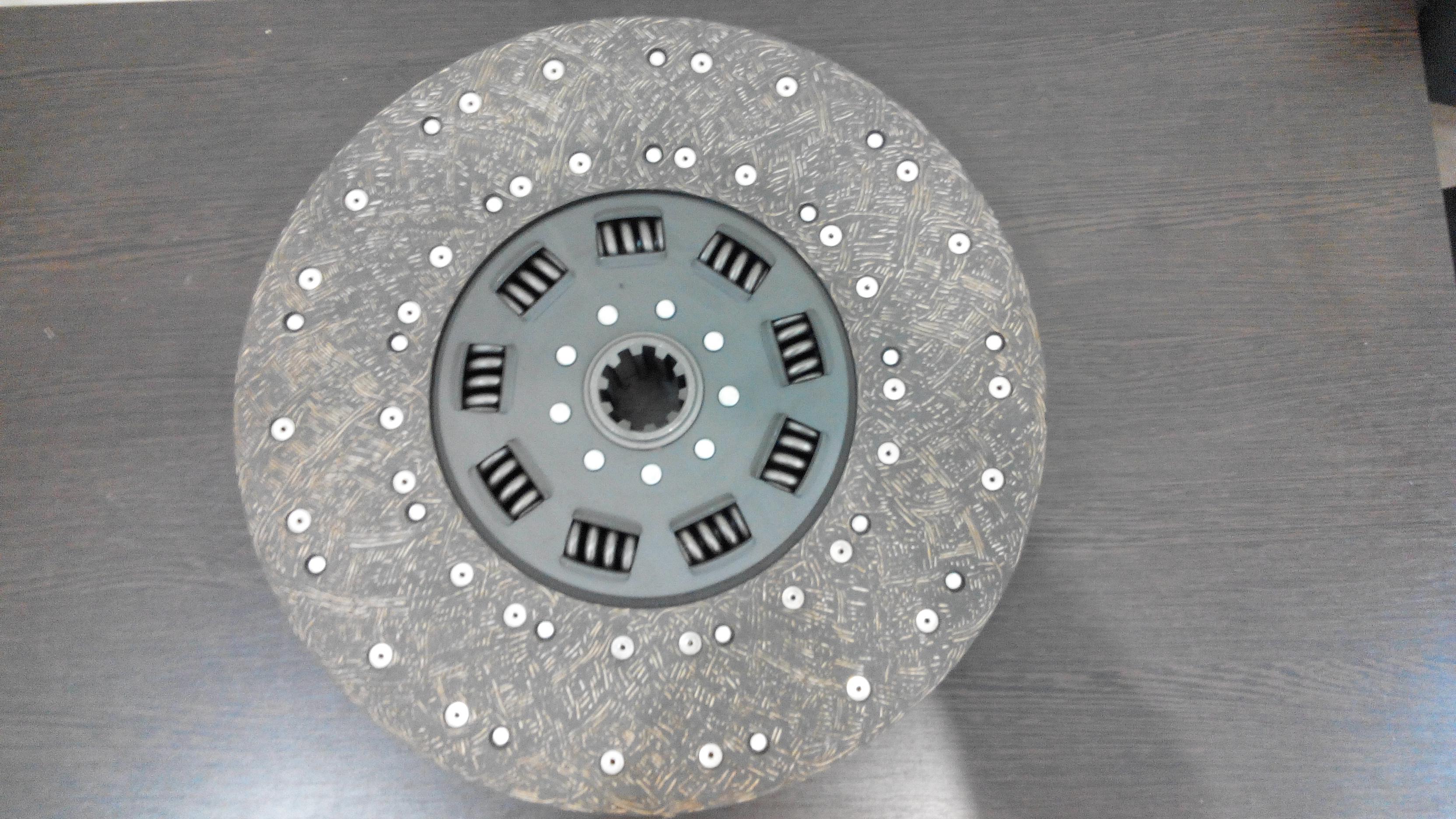 Диск сцепления (Ведомый диск) Mercedes O 303, диаметр 420 мм.
