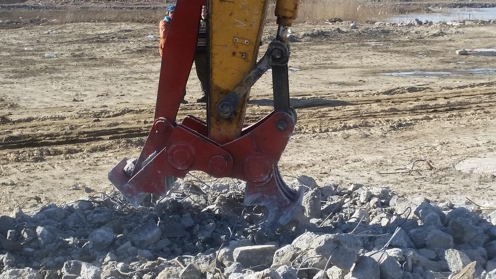 Изготавливаем крашеры и бетоноломы