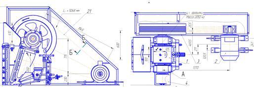 Дробилка щековая ДЩ 210 (ЩДС 2,5х4)