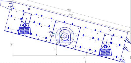 Грохот инерционный  ГИС-63