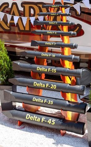 Пики на гидромолот Delta