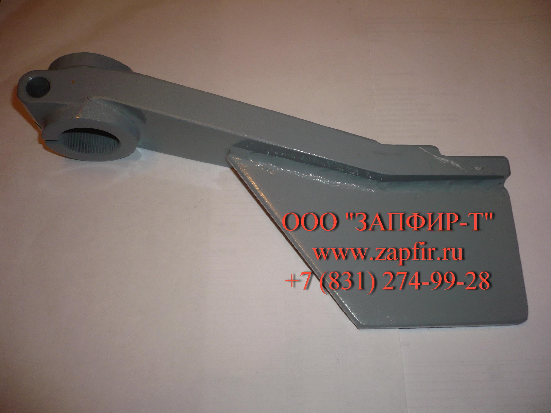 Рычаг тормозка 250.02.05.01.200 для автогрейдера ГС-14.02