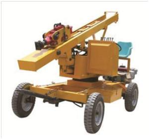 Сваебойная машина для барьерного ограждения YW330B ( Китай )