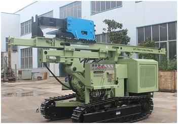 Сваебойная машина для установки солнечных панелей HFPV-1 ( Китай )