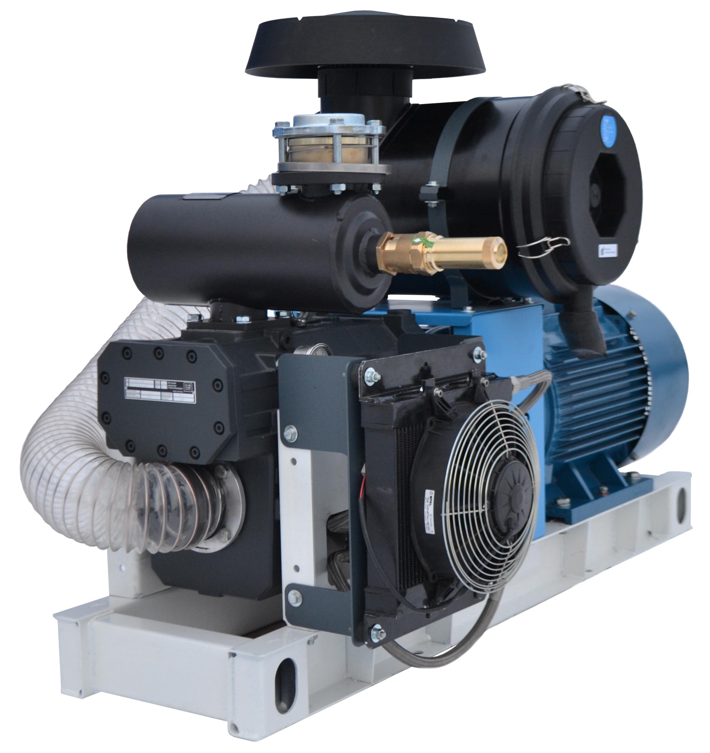 CVS SK 1100 компрессор с электроприводом 55 кВт для выгрузки комбикорма
