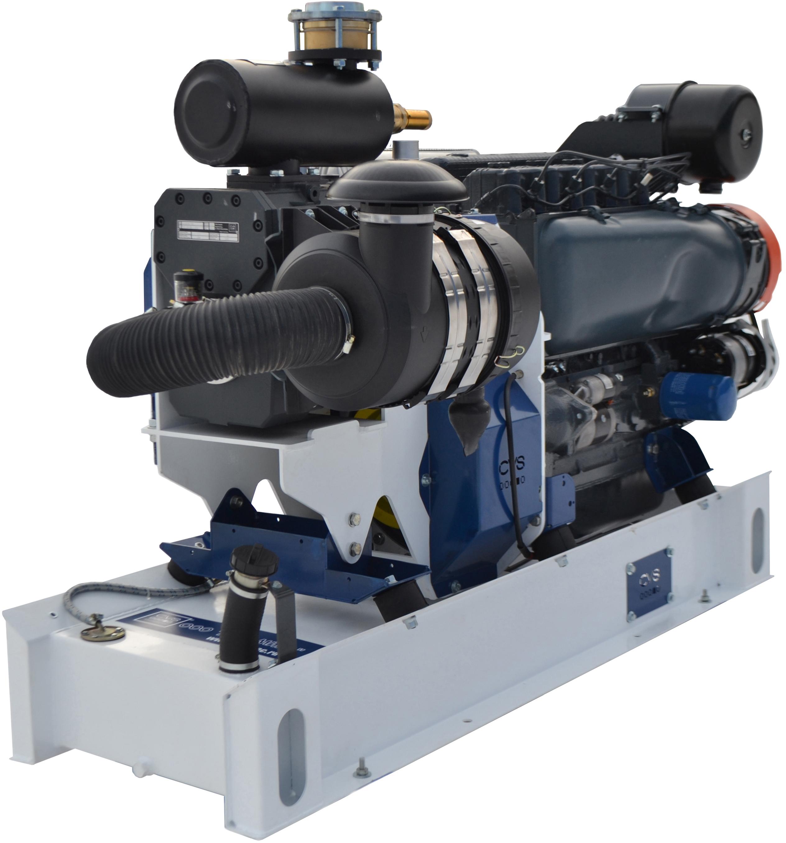 CVS Siloking - компрессорные агрегаты с ДВС для цементовозов, кормовозов