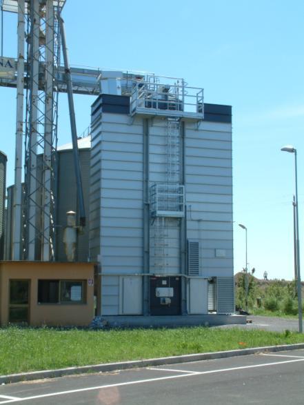 Шахтная зерносушилка Strahl 1600 FR