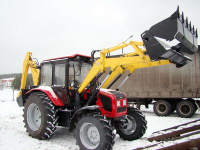 Экскаватор-погрузчик  ЭО-2626 и др. на базе трактора Беларус МТЗ-82.П