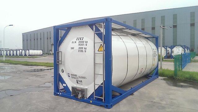 Танк-контейнер Т4 новый вместимостью 25 м3 для перевозки ГСМ
