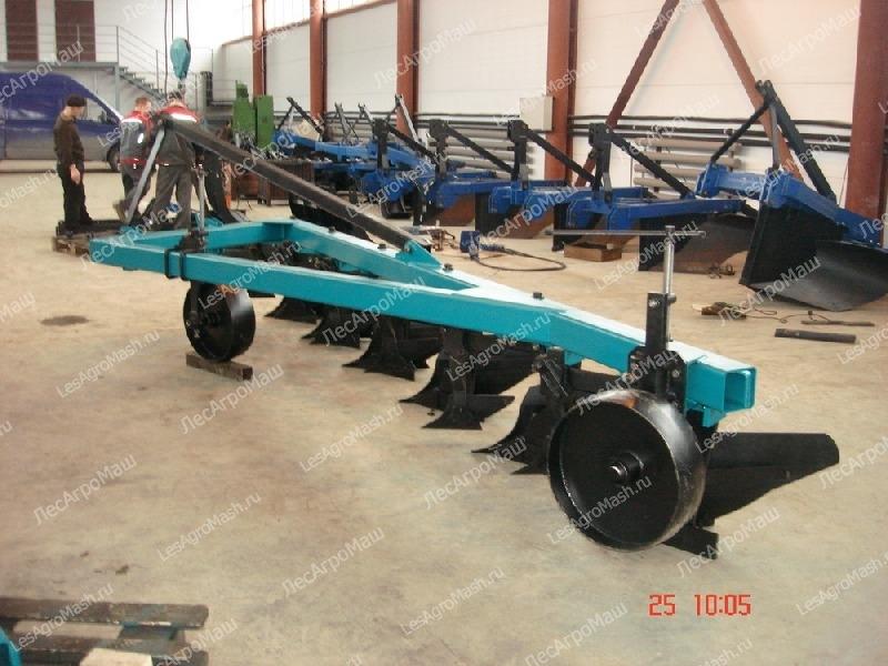 Плуг навесной ПЛН-6-35 (Т-150, МТЗ-1221, МТЗ-1523) - от производителя