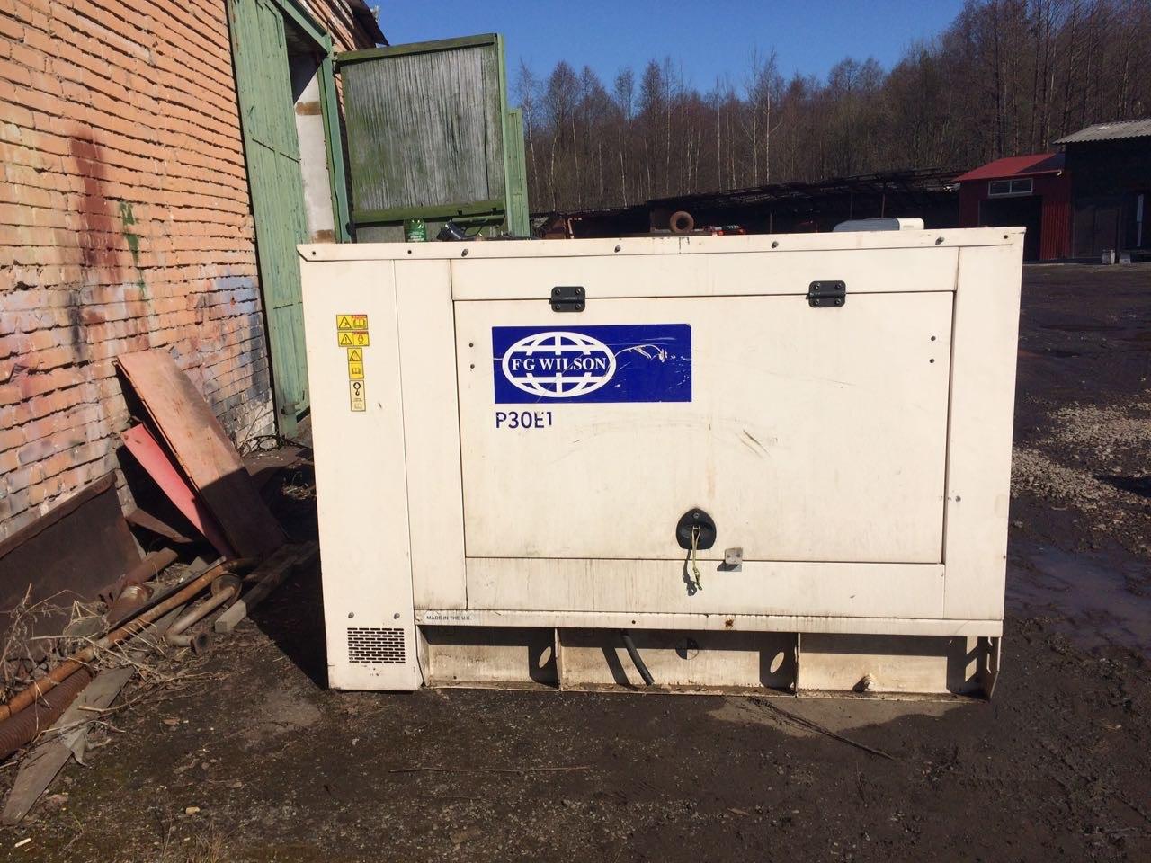 -Продаём дизельную электростанцию FG Wilson P30E1 в шумоизолирующем кожухе