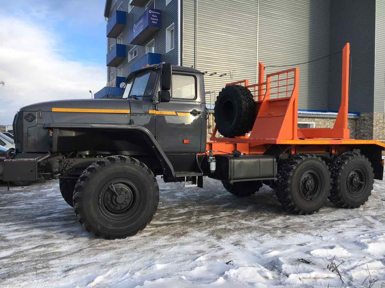 Лесовозы Урал 55571  новые 2016 г.в. в наличии с ПТС