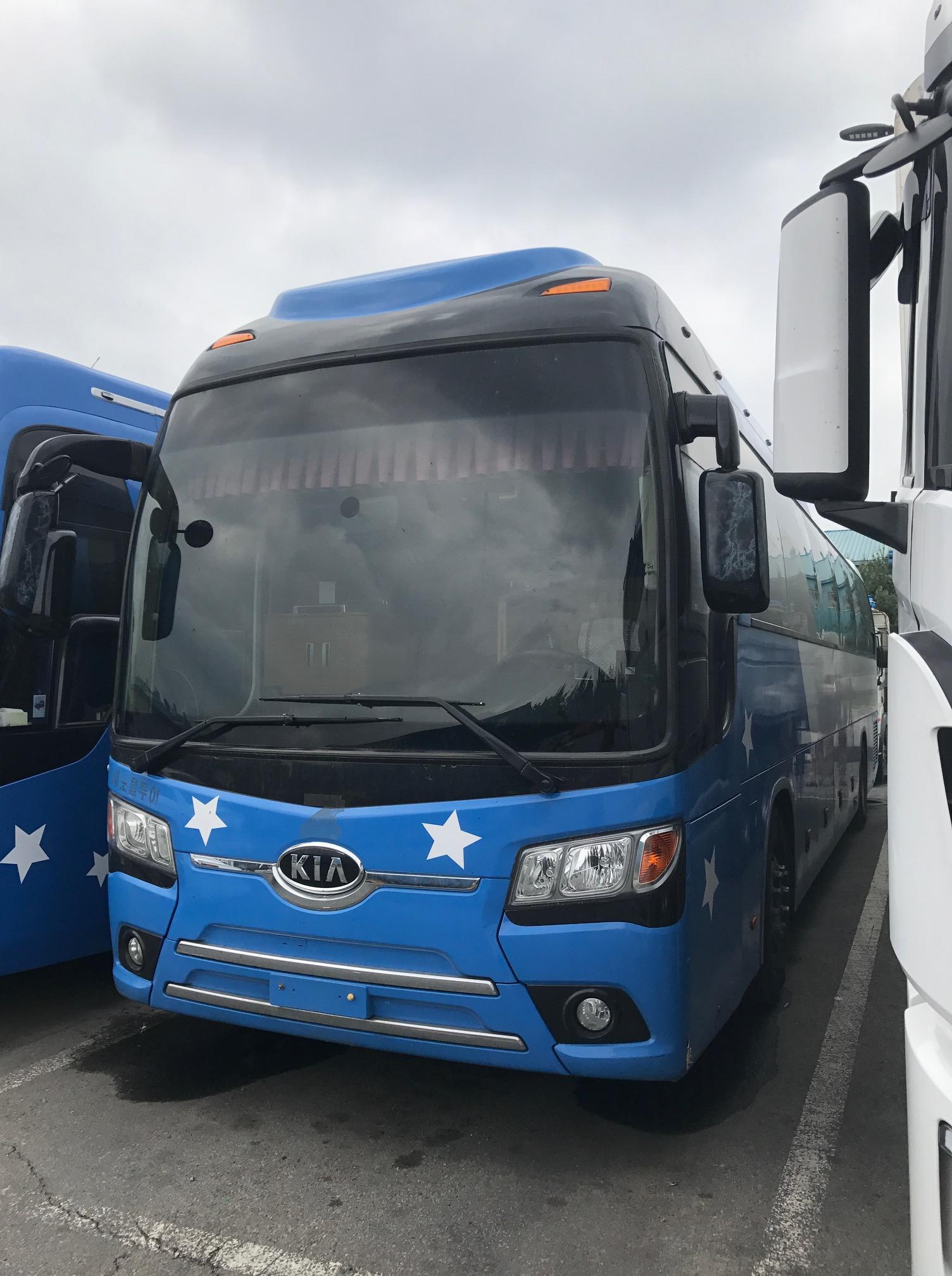 Туристический автобус  Кia Grandbird Silkroad, 2011г, оригинал