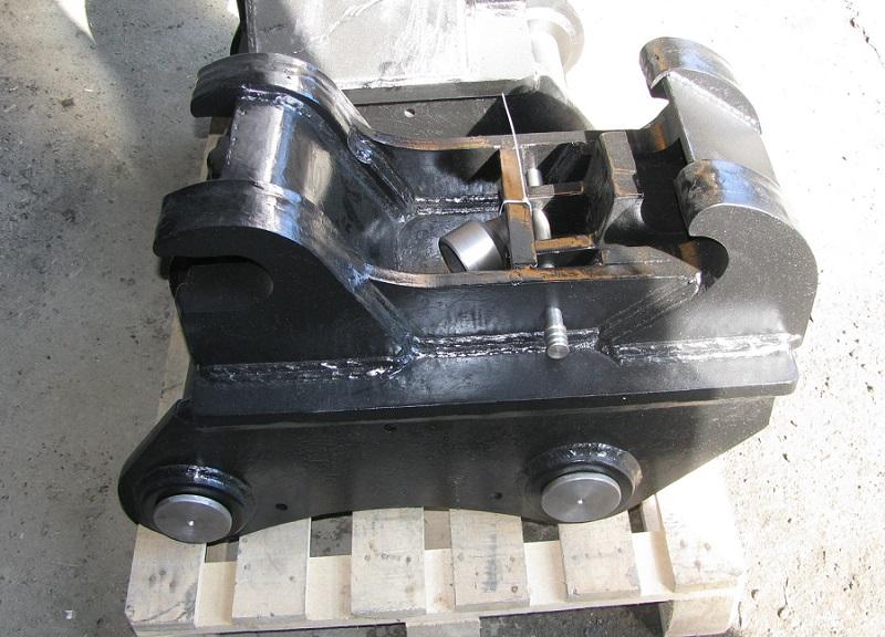 Механический быстросъем на экскаватор