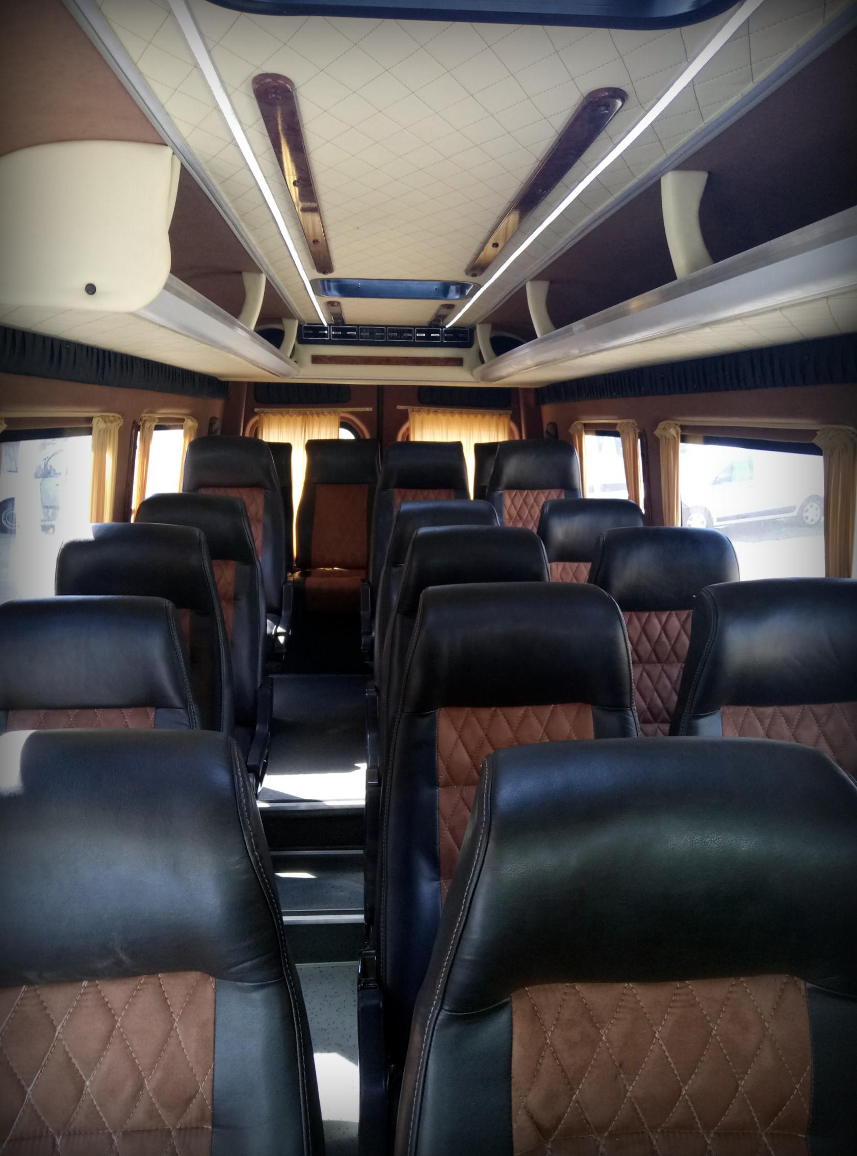 Автобусные сидения в автобус микроавтобус, обшивка салона