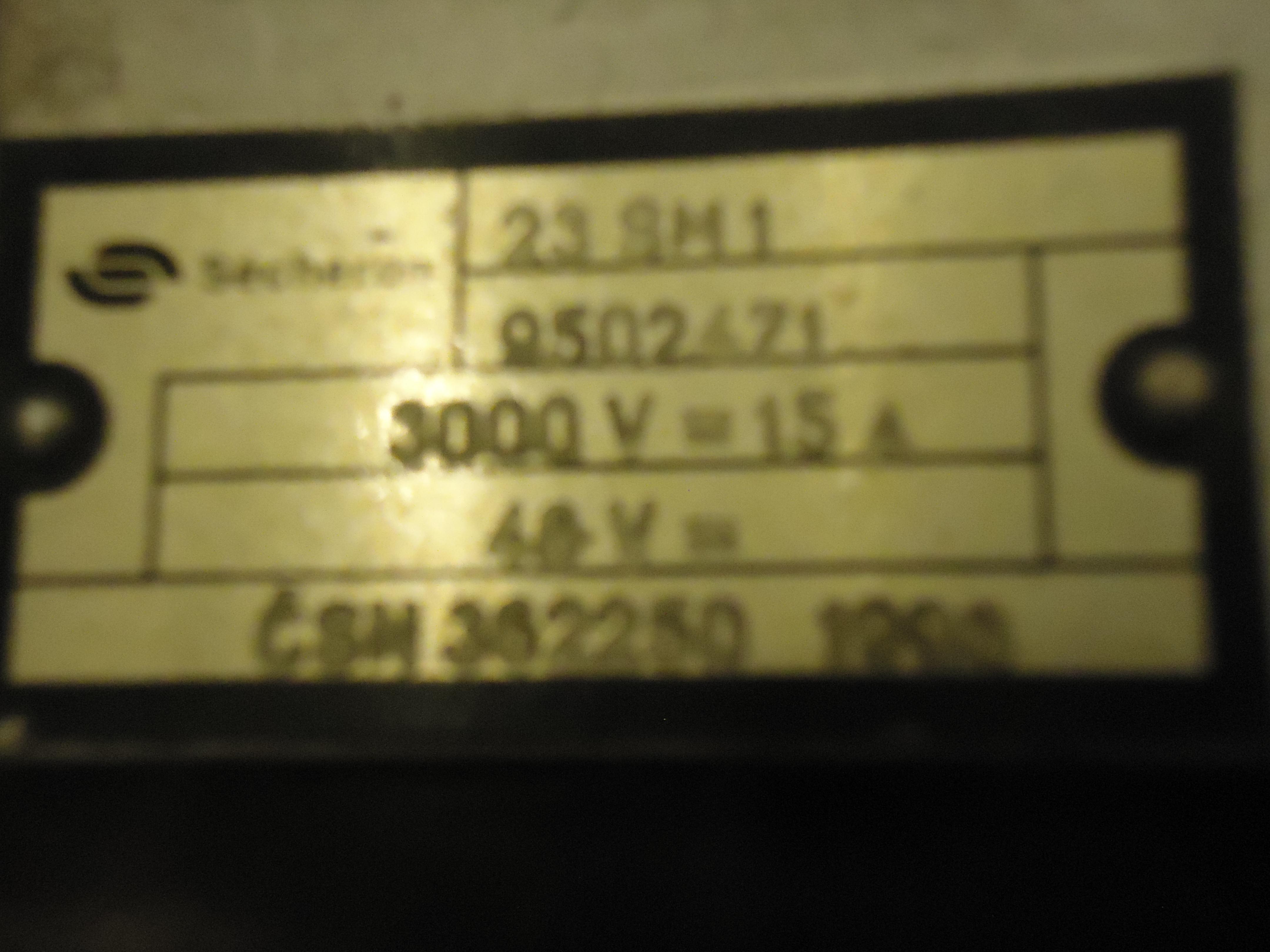 АКЦИЯ - Контакторы сешерон (secheron) 23 sm1 и 31 sm2, счетчик сквт для эле