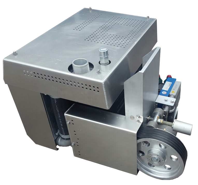 Вакуумный насос/компрессор для цементовоза