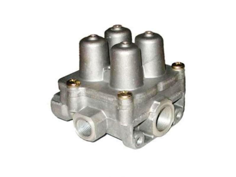 Клапан защитный 4-х контурный Голаз, МАЗ, ЛАЗ Лайнер, Scania, Volvo, MB