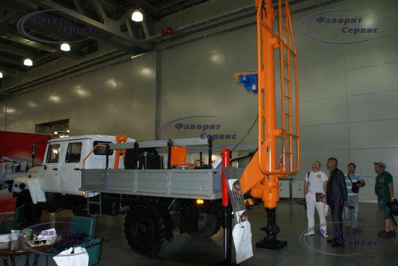 - Новая бурильно-крановая установка (БКМ) ГАЗ-33081 Садко