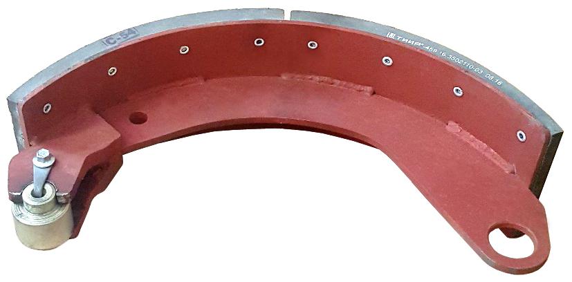 Колодка тормозная в сборе с накладкой Fomar 16.3501090