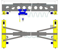 Кран мостовой электрический однобалочный подвесной 1 т