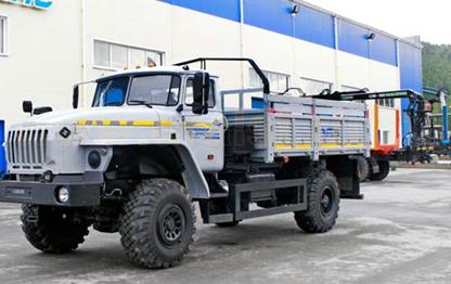 бортовой грузовик 4х4  Урал 43206-0111-71М