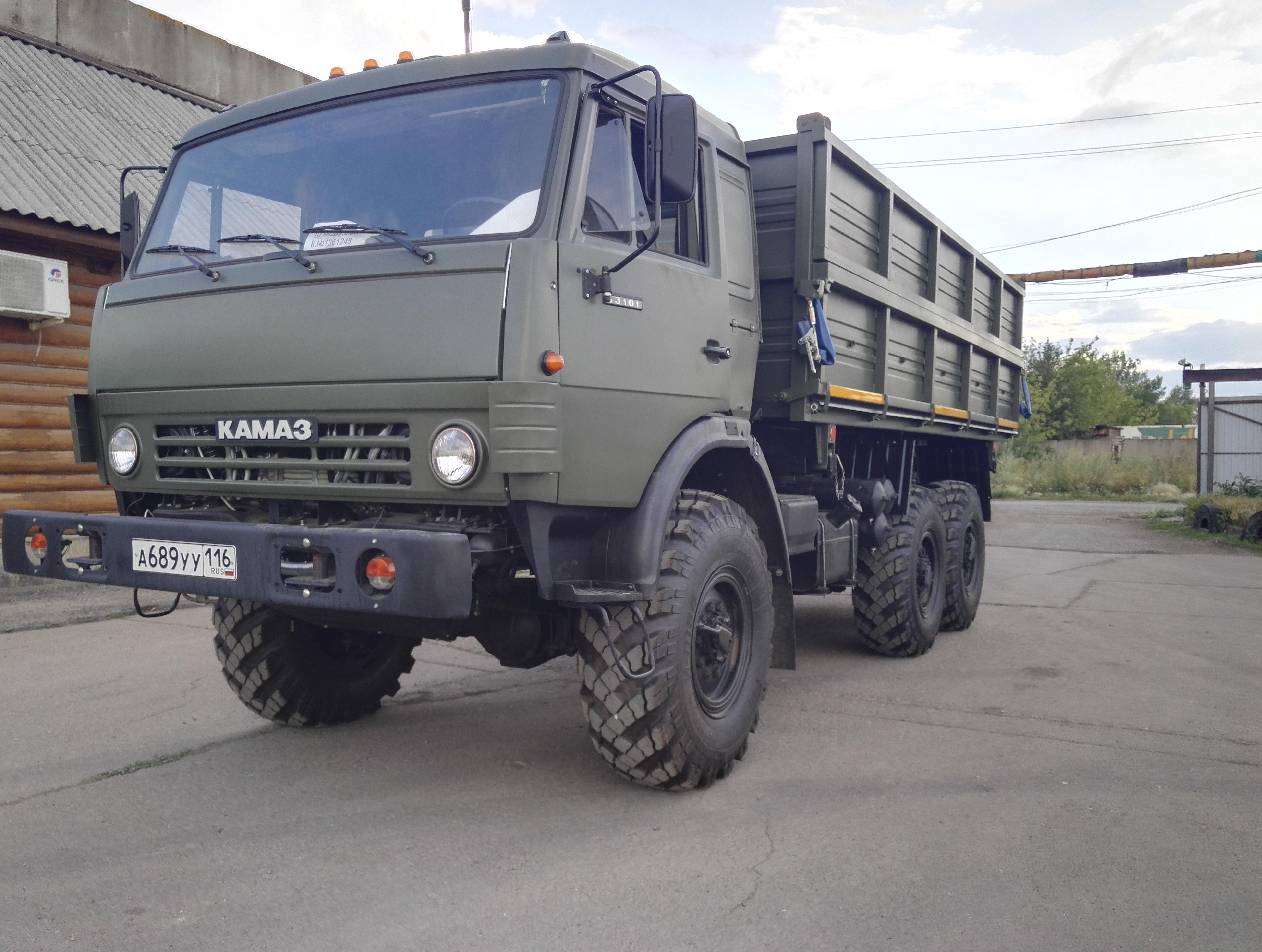 КАМАЗ 4310 самосвал сельхозник