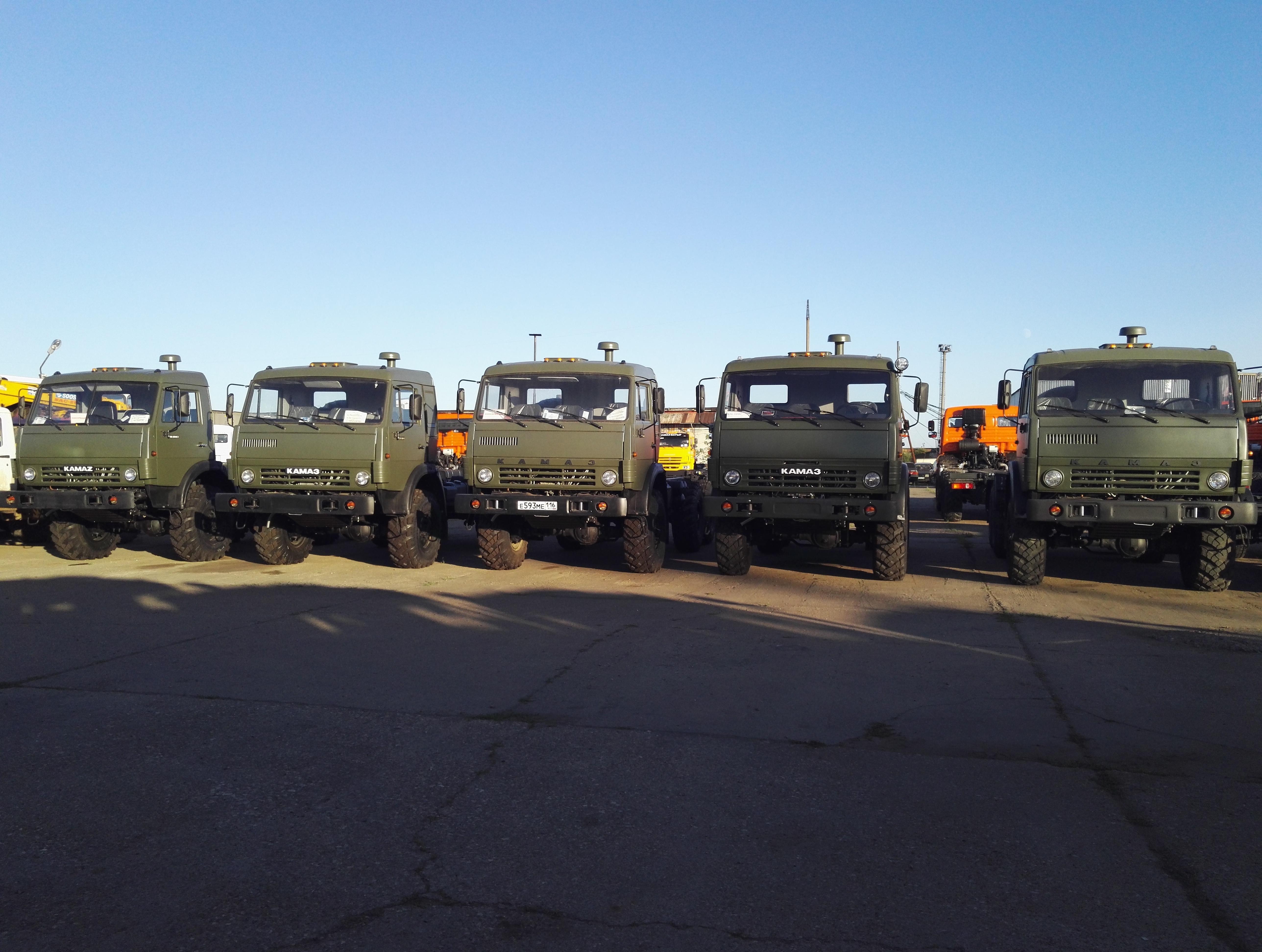 КАМАЗы 4310 шасси НОВЫЕ