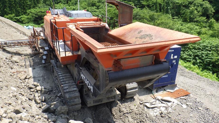Дробильная установка HITACHI ZR950JC