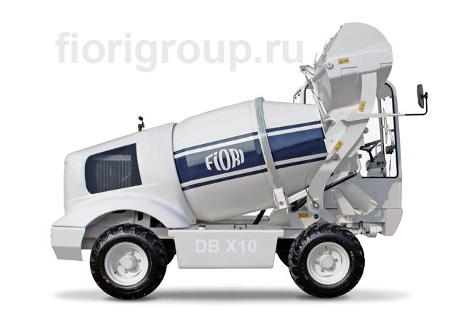 Бетоносмеситель с самозагрузкой Fiori X10 мобильный бетонозавод 4м3/час