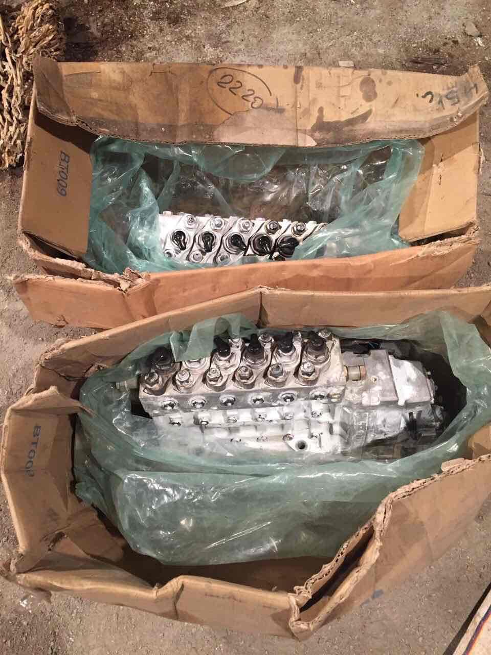 Топливные насосы ТНВД KOMATSU - 6553-00-1114, 6553-00-1214 - fuel pump.