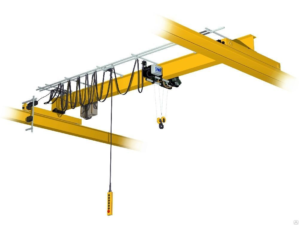 Кран мостовой опорный 10 т, пролет 22.5 м, в/п  12 м