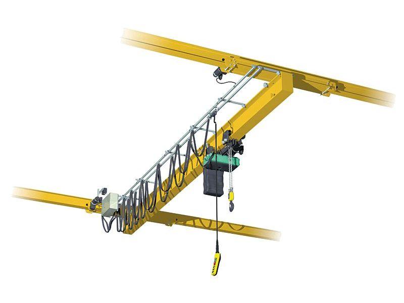 Кран мостовой подвесной однопролетный 3,2 т ,  пролет 30 м, в/п 9 м