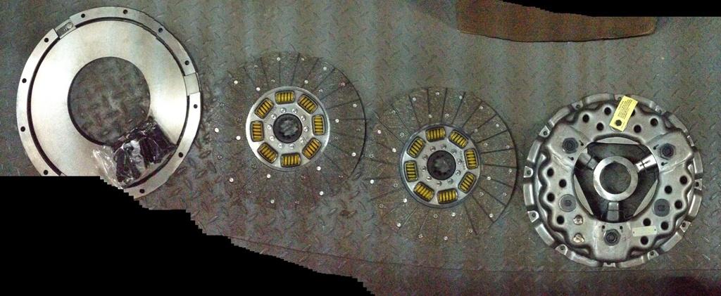 Комплект сцепления 118-0186 (старого образца с лапками) 2-дисковое дв. САТ