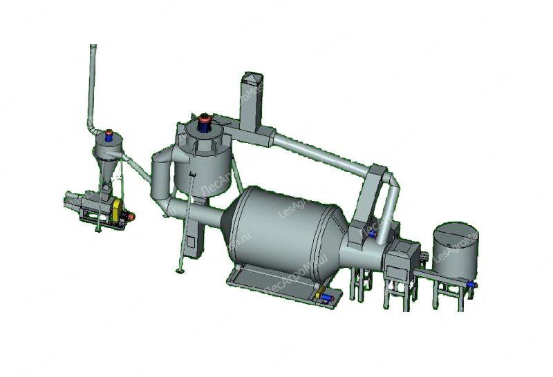 Барабанный сушильный агрегат АВМ-0,65 - от Производителя