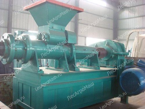 Пресс для угольной пыли УПБ-220 (брикеты) - от Производителя