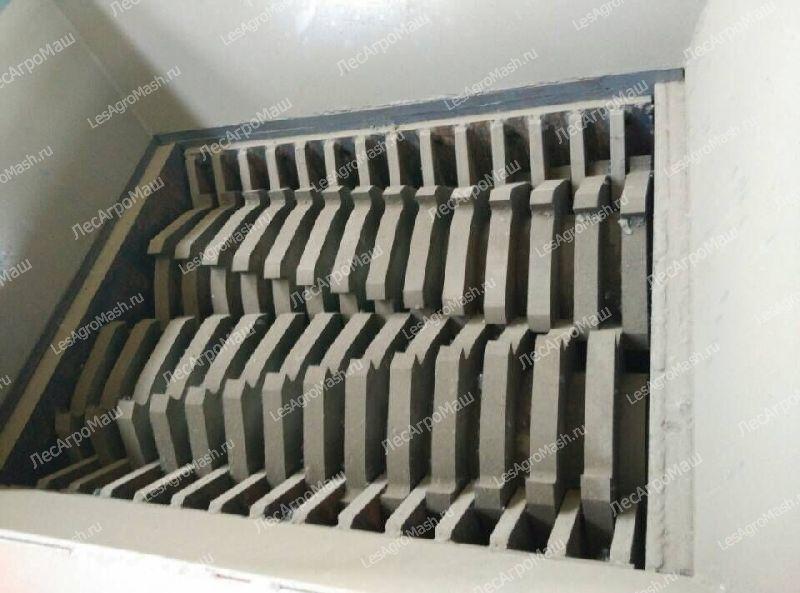 Шредер двухвальный для отходов пластика, дерева ДШВ-600 - от Производителя