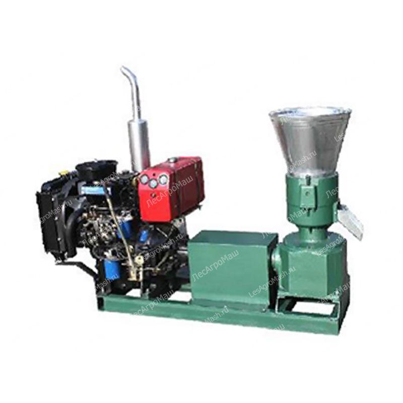 Гранулятор для комбикорма, пеллет 260А (дизельный двигатель) - от Производи