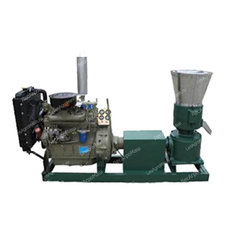 Гранулятор для комбикорма, пеллет 300А (дизельный двигатель) - от Производи