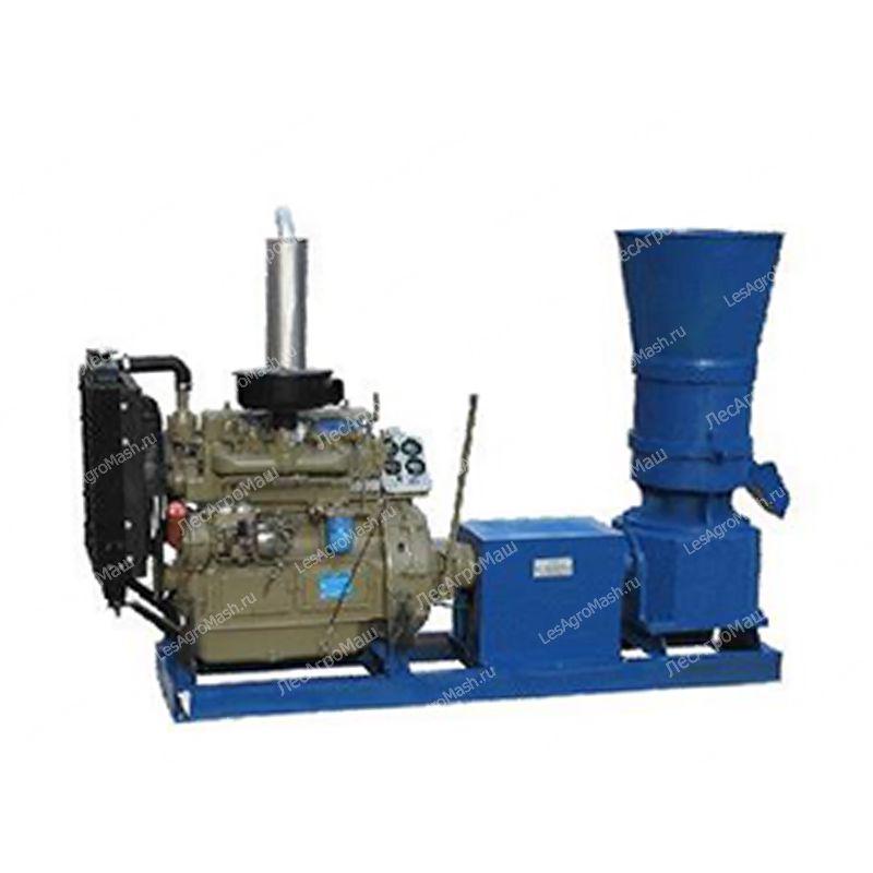 Гранулятор для комбикорма, пеллет 360А (дизельный двигатель) - от Производи