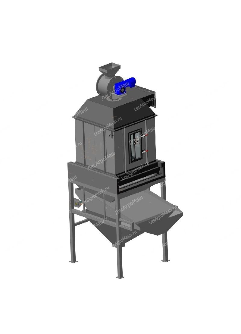 Колонна охлаждения гранул КО-1000 - от Производителя